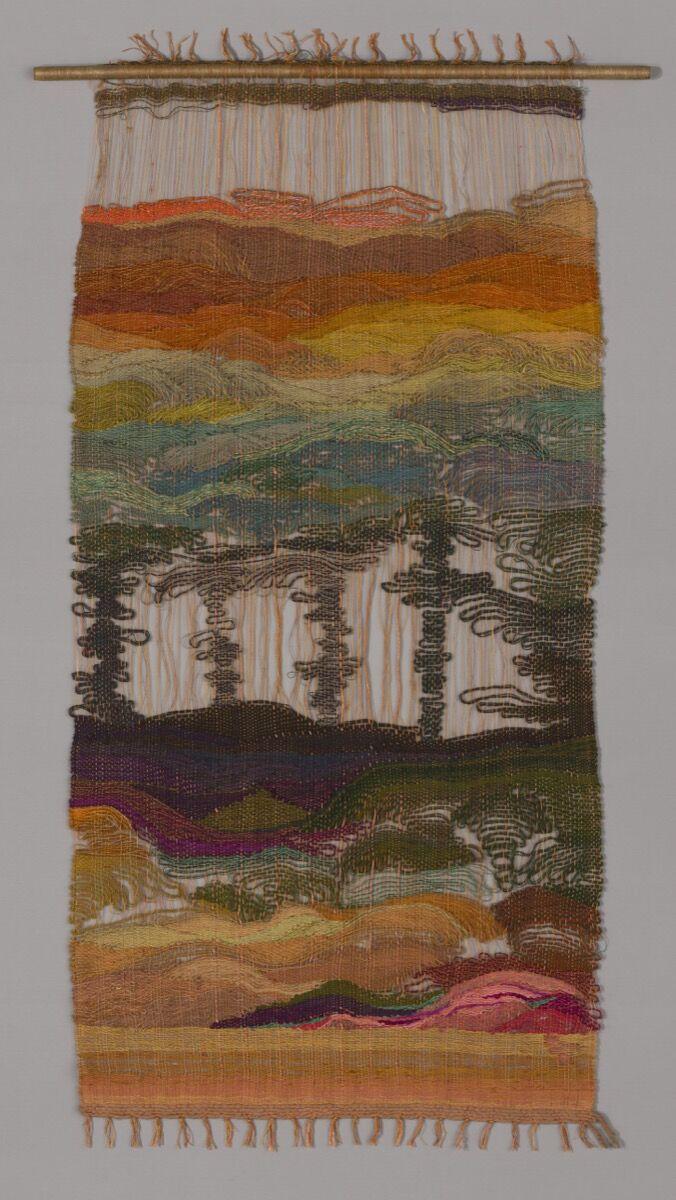 Lenore Tawney. Landscape, 1958. Alexander Demond Fund. © Lenore G. Tawney Foundation.
