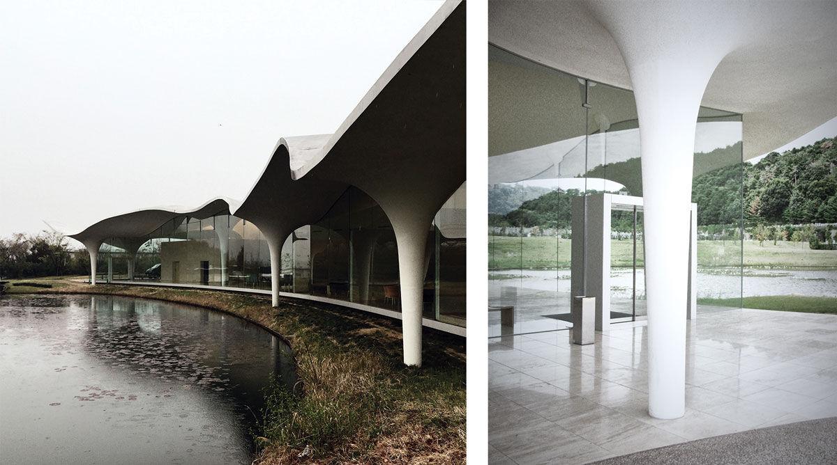 Left: Photo courtesy ofAlberto Pugnale. Right: Photo courtesy of Tomooki Kengaku.