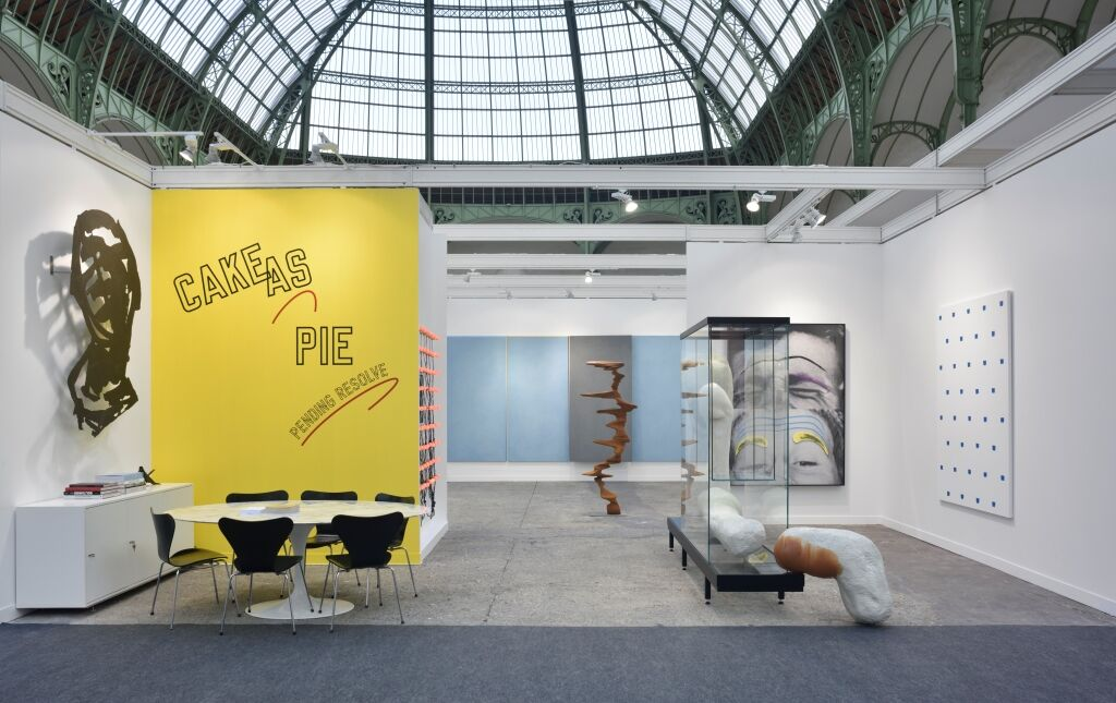 Installation view of Marian Goodman Gallery's booth at FIAC, 2015. Photo courtesy of Marian Goodman Gallery.