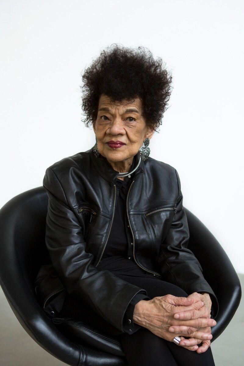 Portrait of Lorraine O'Grady by Ross Collab, 2018. Courtesy Alexander Gray Associates, New York.
