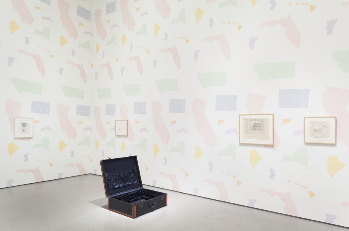 """Installation view of Robert Gober'sUntitled(1997) in the exhibition """"Robert Gober: The Heart Is Not a Metaphor"""" at The Museum of Modern Art, New York, on view October 4, 2014–January 18, 2015. Photo by Thomas Griesel. © The Museum of Modern Art."""