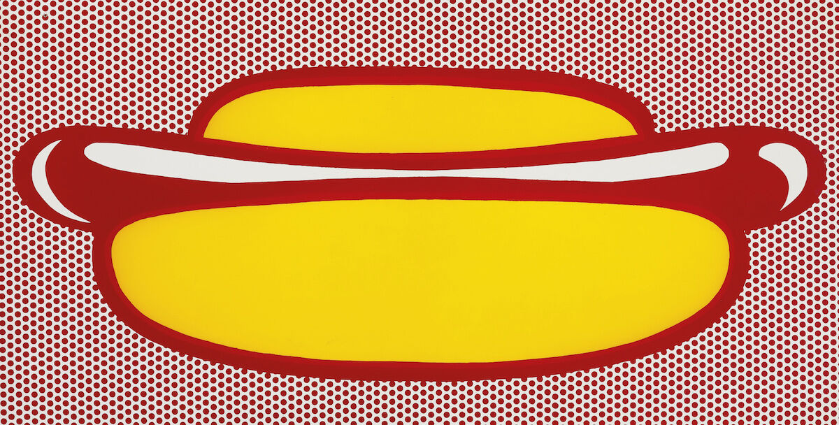 Roy Lichtenstein, Property of a European Collector, 1964. Courtesy of Sotheby's.