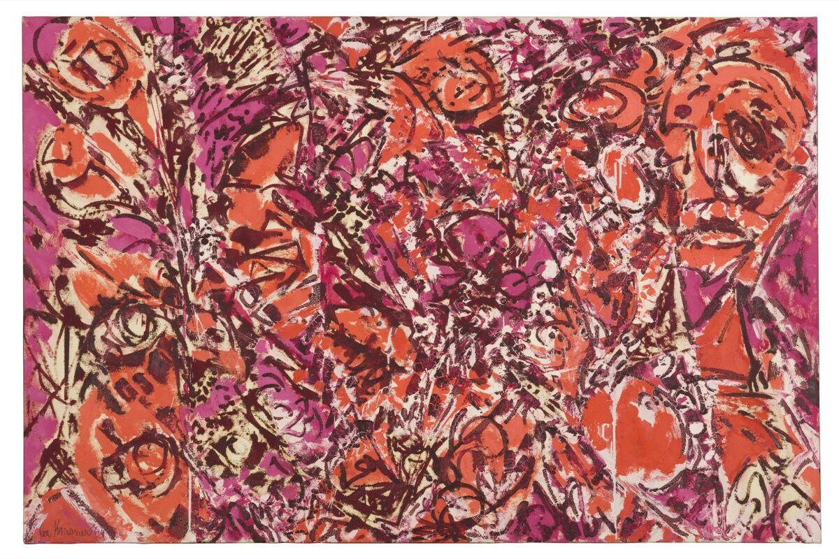 Lee Krasner,  Icarus  , 1964. © The Pollock-Krasner Foundation. Photo by Diego Flores. Courtesy of Kasmin Gallery, New York.