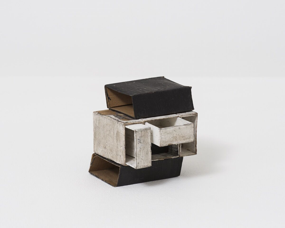 Lygia Clark, Estruturas de Caixa de Fósforos, 1964. © Copyright O Mundo de Lygia Clark-Associação Cultural, Rio de Janeiro. Courtesy of Alison Jacques Gallery, London.