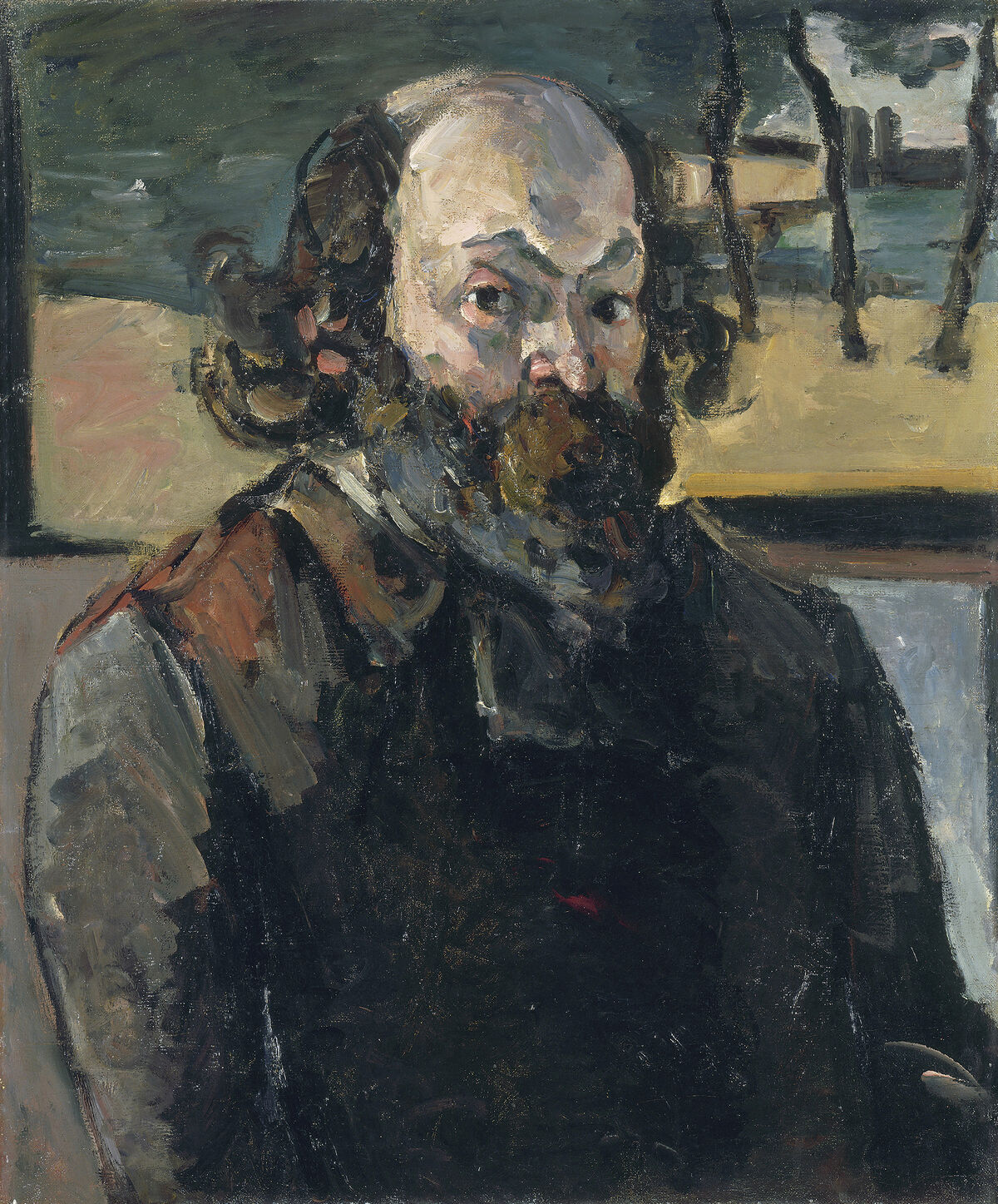 Paul Cézanne, Self-Portrait, c. 1875. Courtesy of the National Gallery of Art.