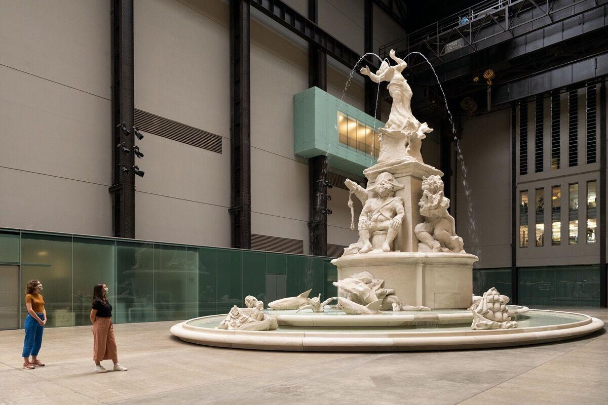 Kara Walker, installation view of Fons Americanus, 2019, at Tate Modern, 2020. Courtesy of Tate Galleries.