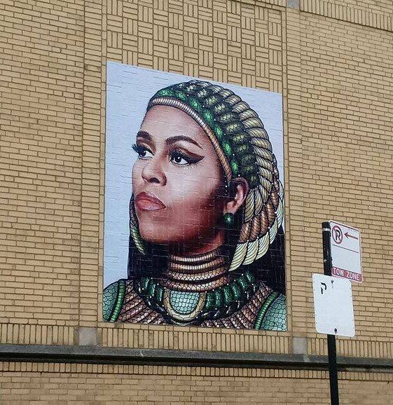 Chris Devins's Chicago mural. Photo via Chris Devins's twitter.