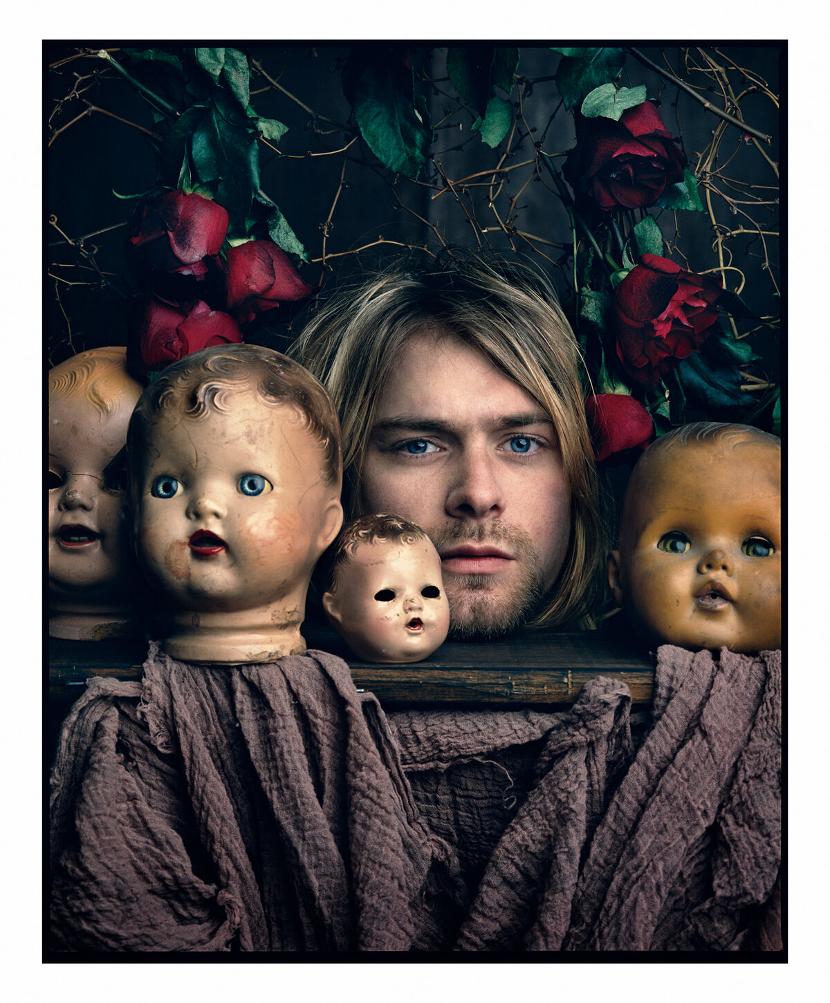 Mark Seliger, Kurt Cobain, Kalamazoo, Michigan, 1993. Courtesy of the artist.