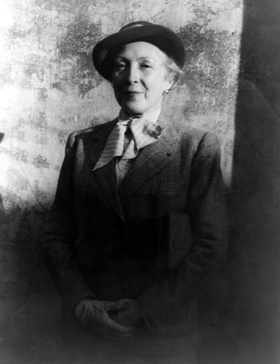 Portrait of Marie Laurencin by Carl Van Vechten. Image via Getty Images.