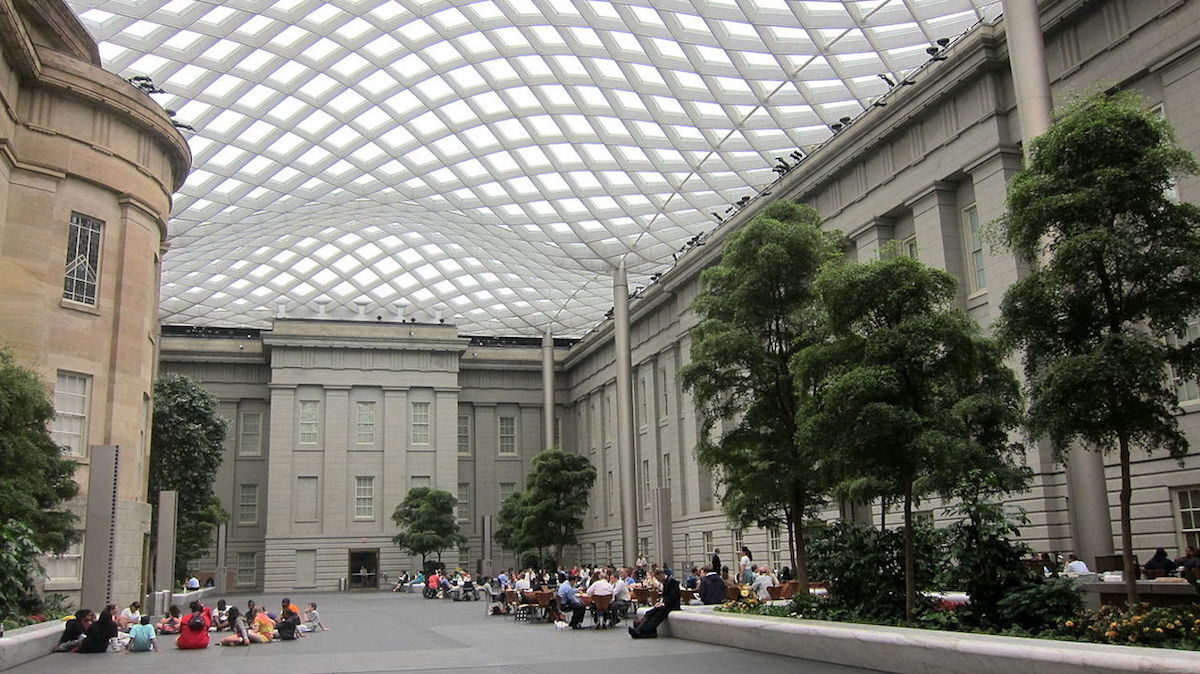 The Smithsonian American Art Museum in Washington, D.C. Photo by AgnosticPreachersKid, via Wikimedia Commons.