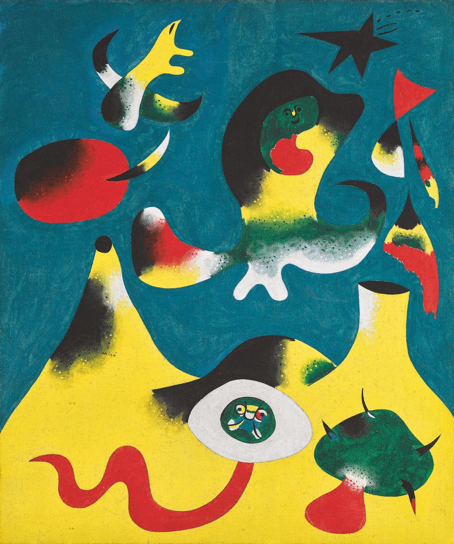 Joan Miró, Peinture (L'Air), 1938. Courtesy Sotheby's.