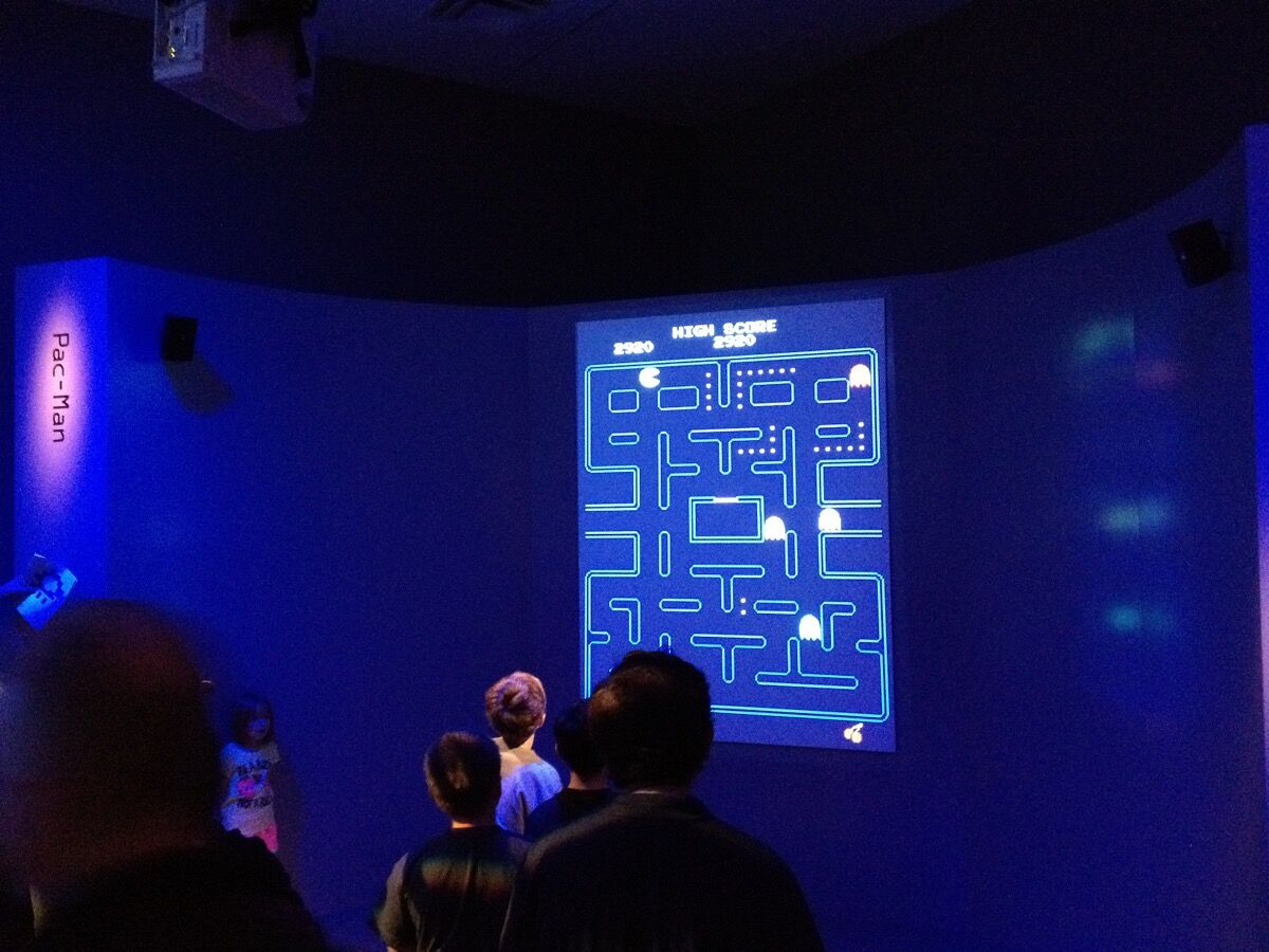 """Opening weekend of """"The Art of Video Games"""" at the Smithsonian American Art Museum, 2012. Photo by Blake Patterson, via Flickr."""