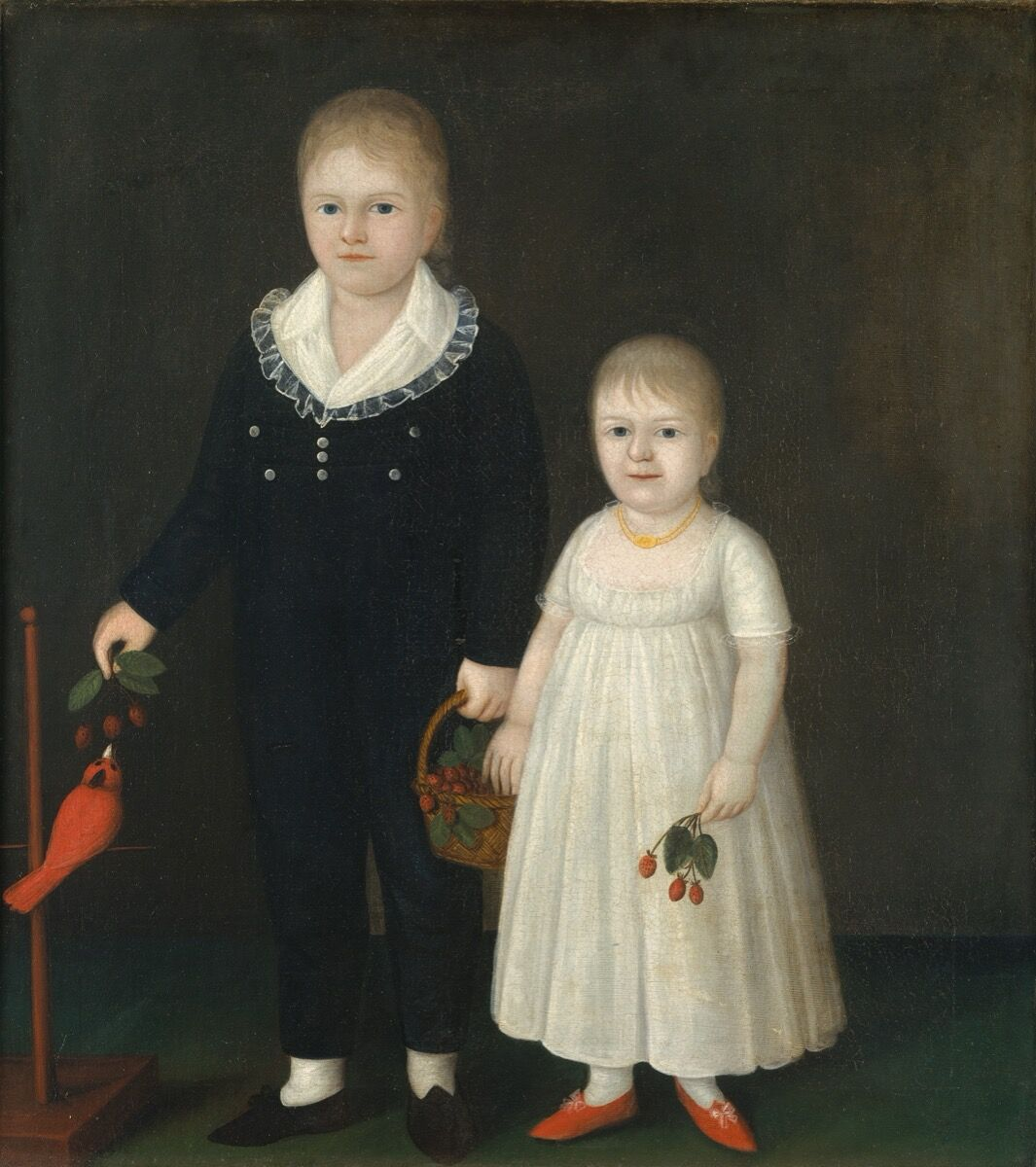 Joshua Johnson, Edward and Sarah Rutter, c. 1805. Courtesy of Metropolitan Museum of Art.