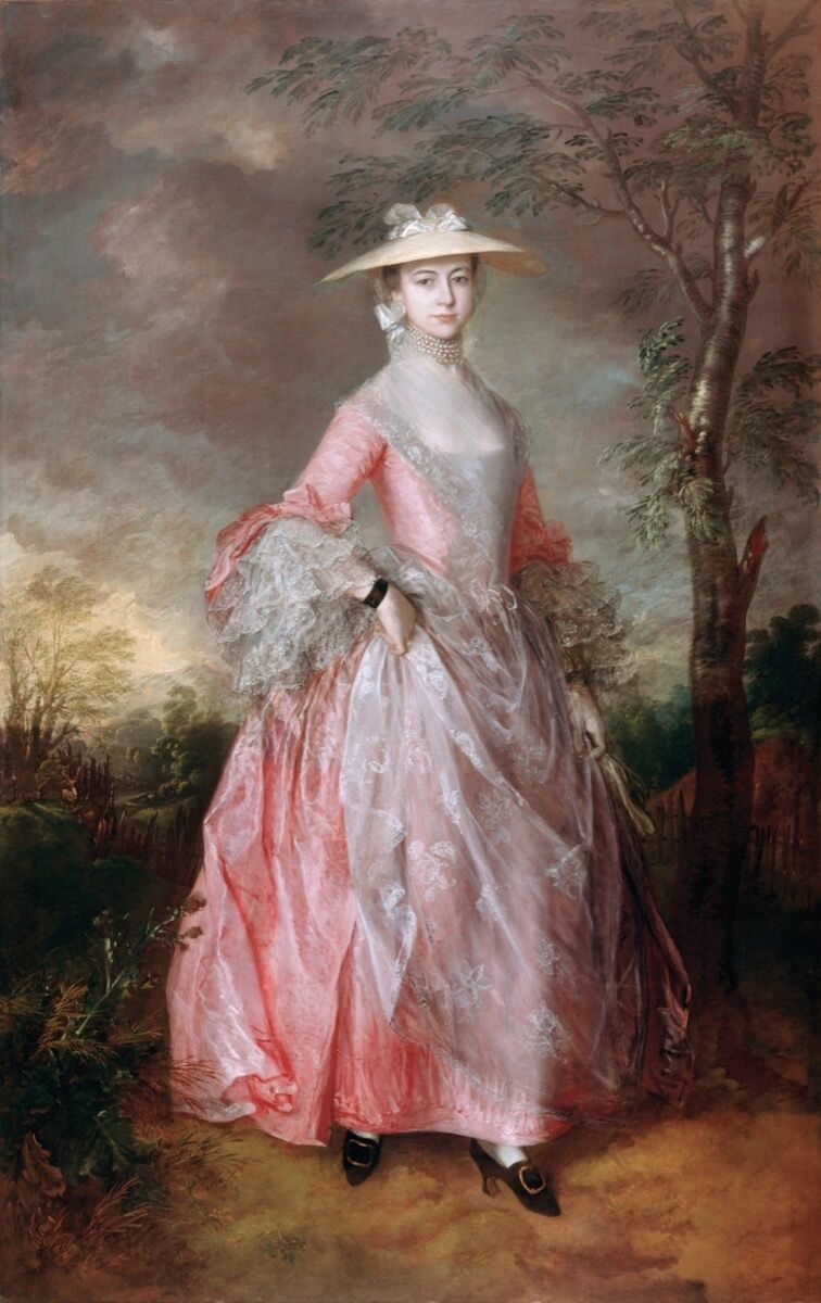 Thomas Gainsborough, Mary, Countess Howe, c. 1764. Photo via Wikimedia Commons.