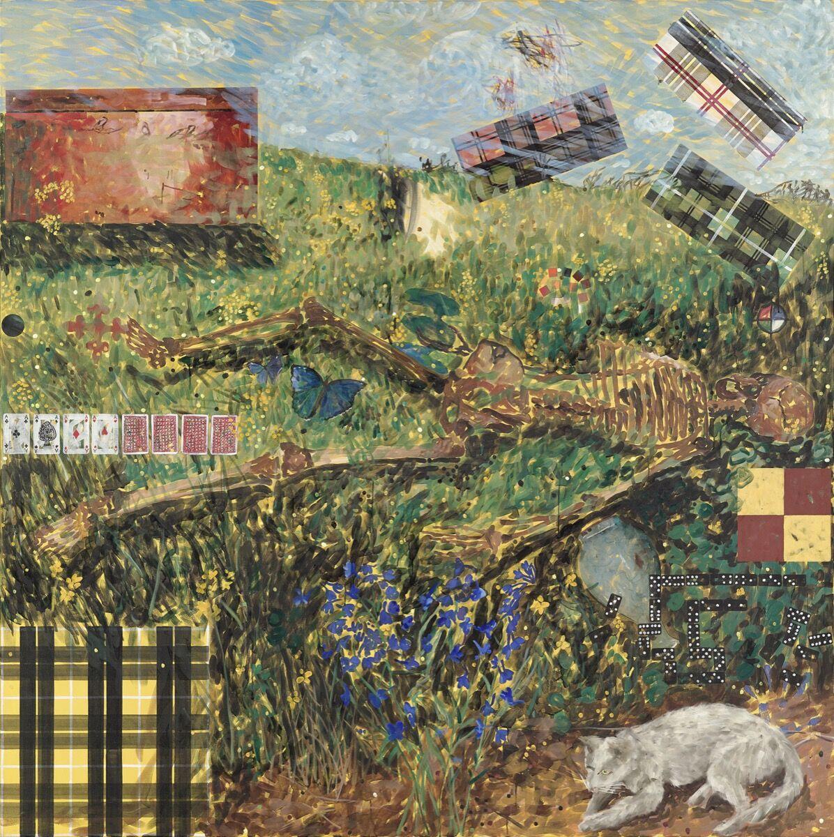 Jennifer Bartlett, Summer, 1990. Courtesy of the artist and Locks Gallery.