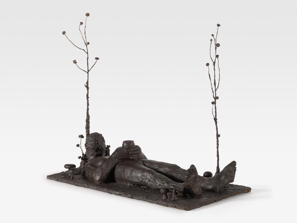 Nicole Eisenman, Laying Down Guy, 2018. Courtesy of Anton Kern Gallery.