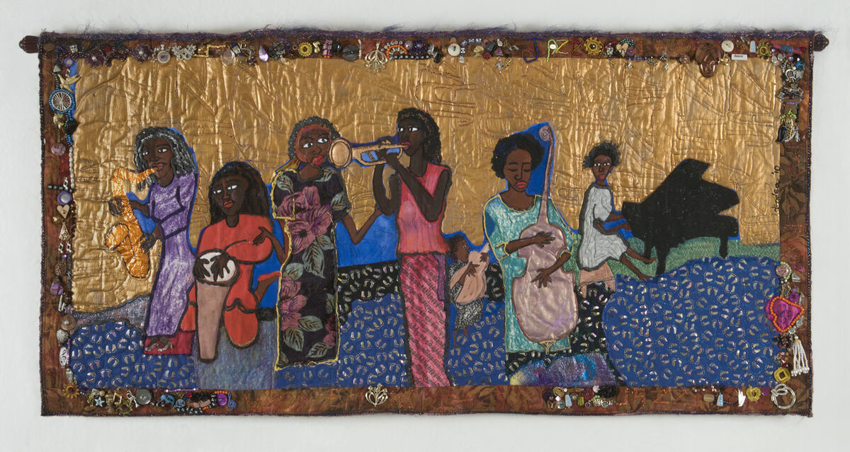 Dindga McCannon, Women in Jazz #7. Courtesy of the artist.