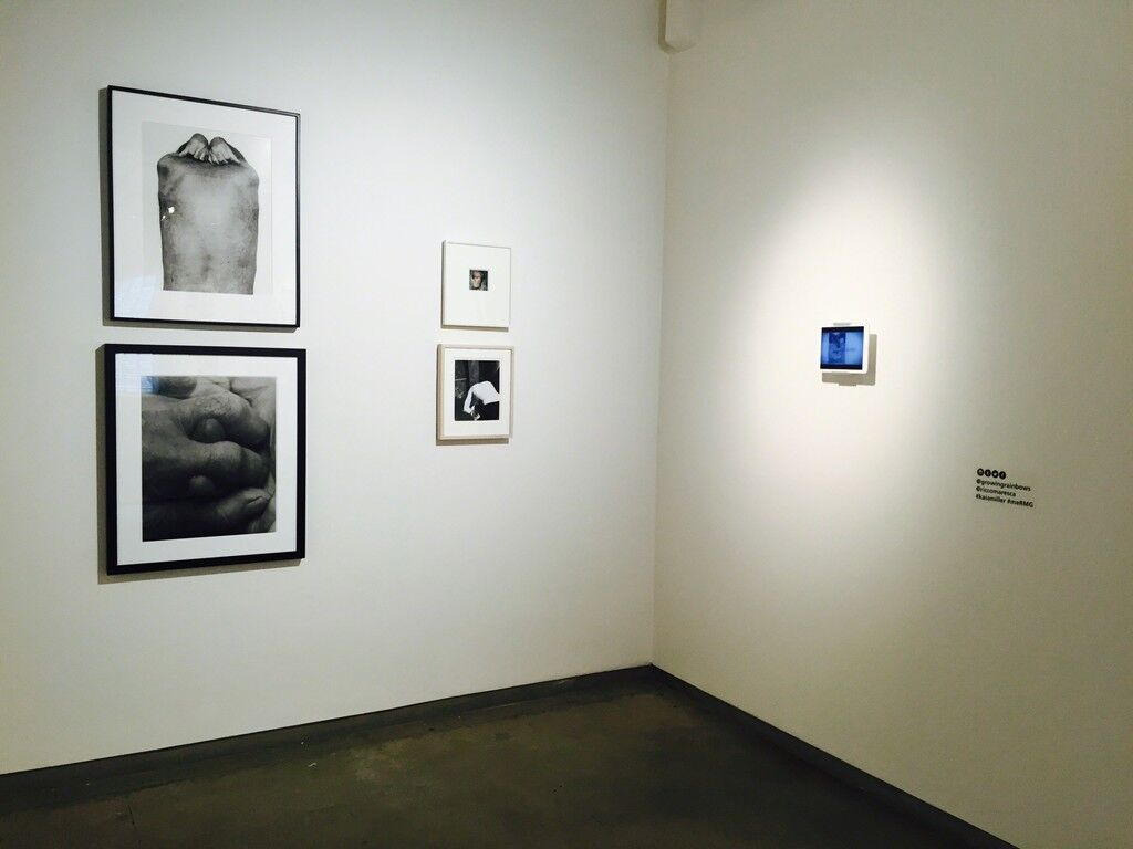 """Installation view """"Me"""" at Ricco/Maresca Gallery. Image courtesy Ricco/Maresca Gallery."""