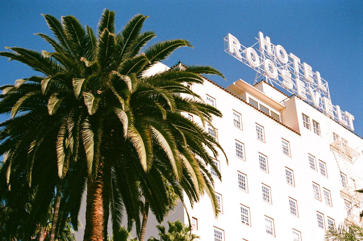 The Hotel Roosevelt. Image courtesy of Felix LA.