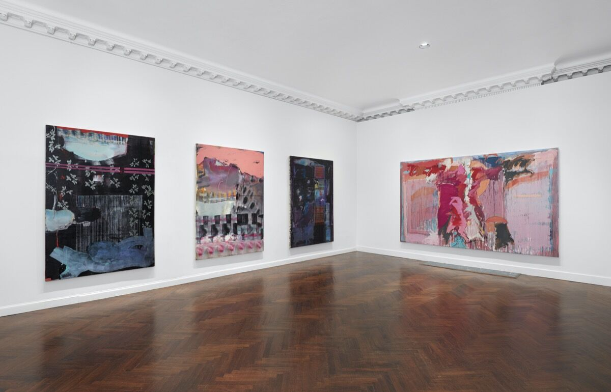 Mary Lovelace O'Neal, installation view at Mnuchin Gallery, 2020. Photo by Tom Powel Imaging. Courtesy of Mnuchin Gallery, New York.