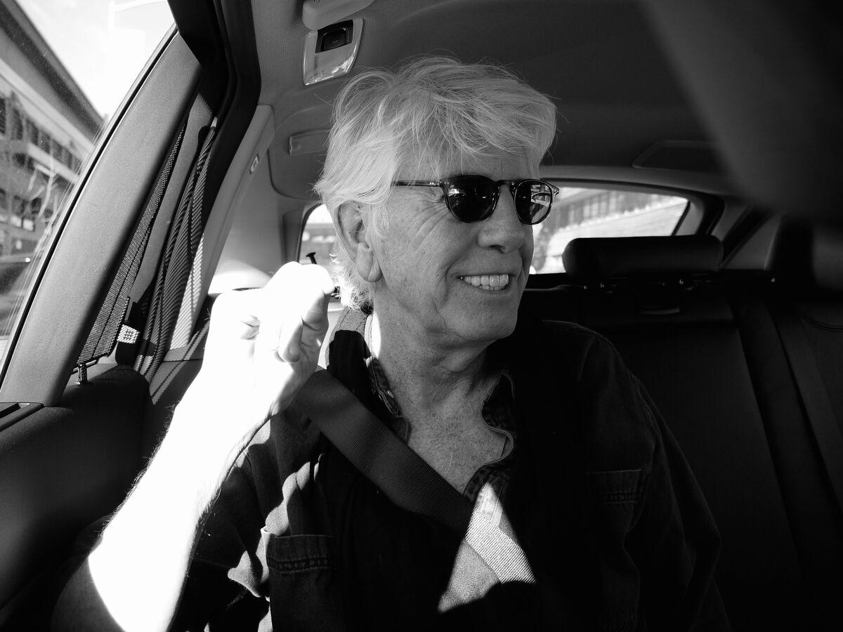 Portrait of Graham Nash. Photo by Amy Grantham.