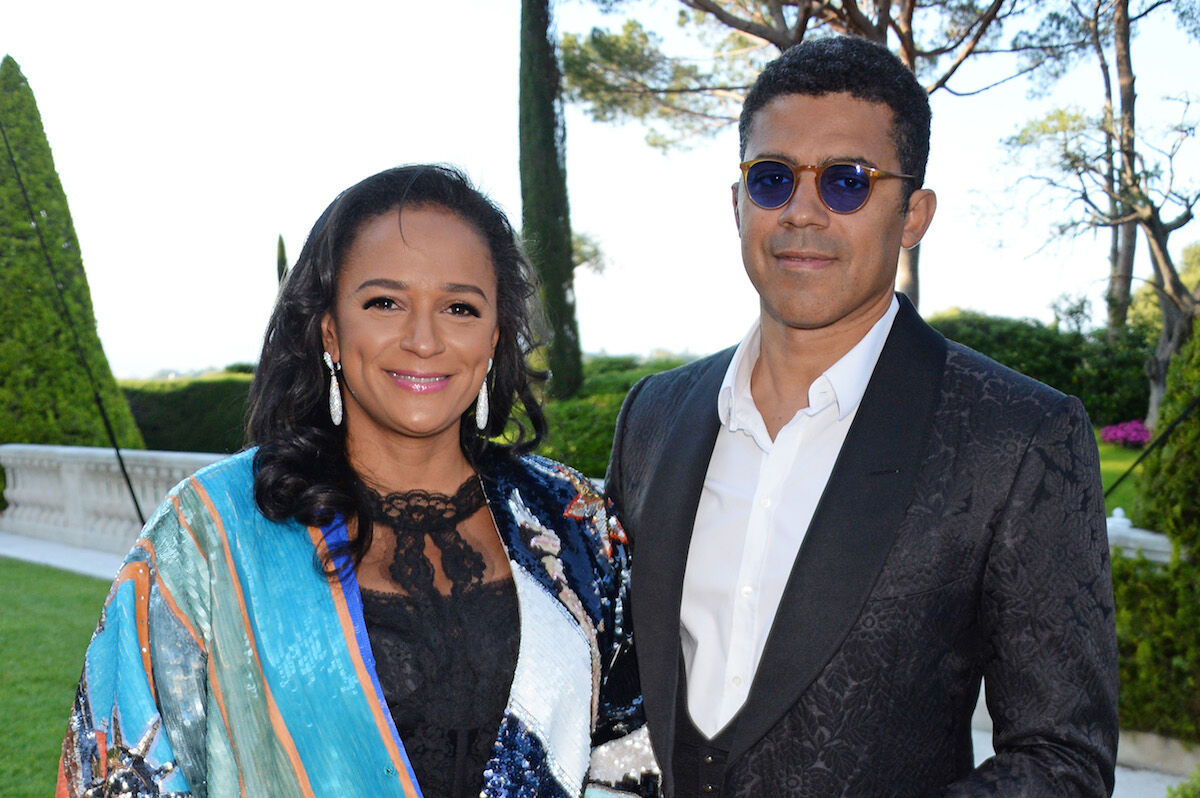 Isabel dos Santos and Sindika Dokolo in the South of France in 2018. Photo by Dave Benett/amfAR/Dave Benett/WireImage for amfAR.