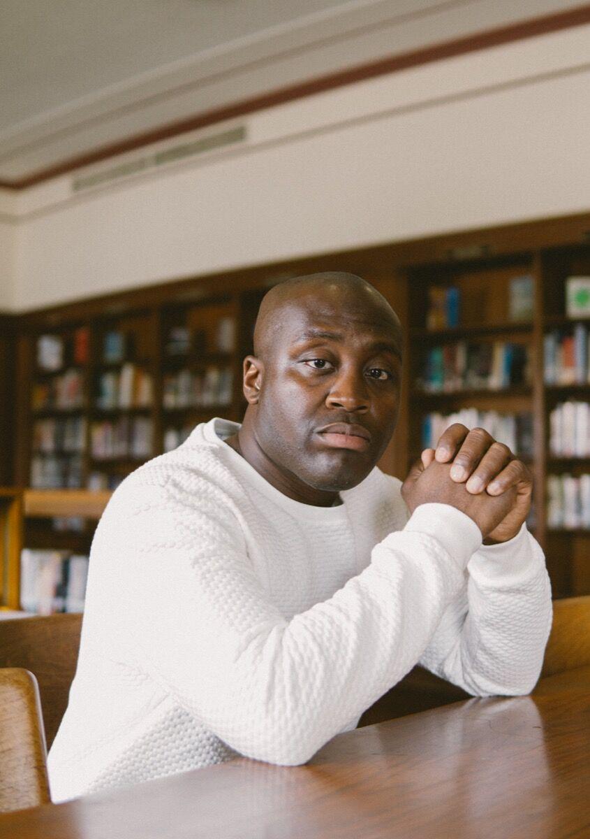 Portrait of Larry Ossei-Mensah by Aaron Ramney.