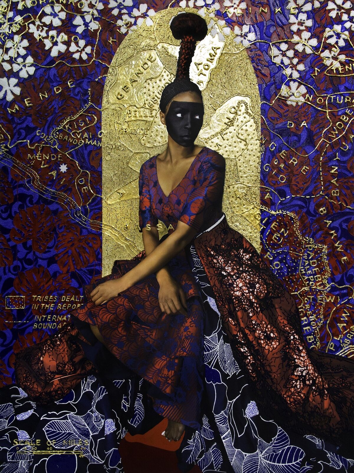 Lina Iris Viktor, Eleventh, 2018. Courtesy of the artist and Mariane Ibrahim Gallery.