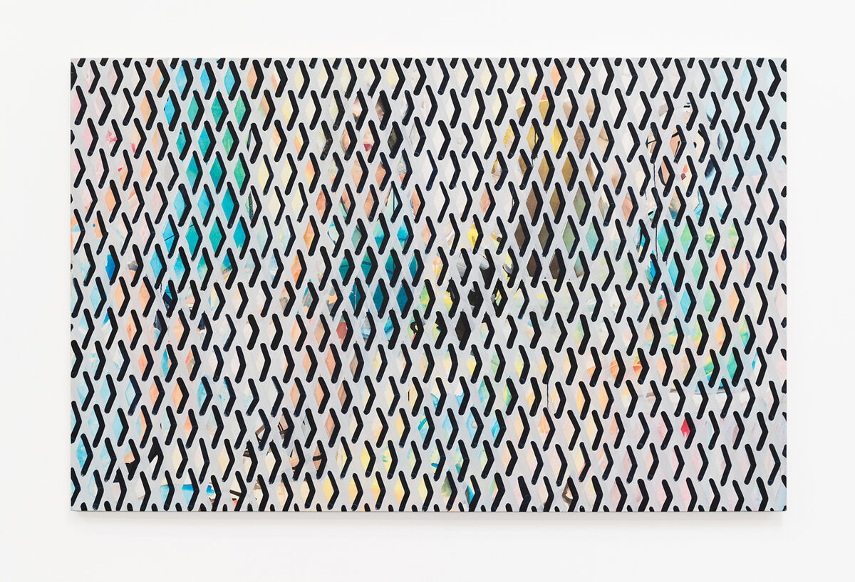 Becky Kolsrud, Group Portrait with Security Gate, 2015. Image courtesy of the artist and JTT.