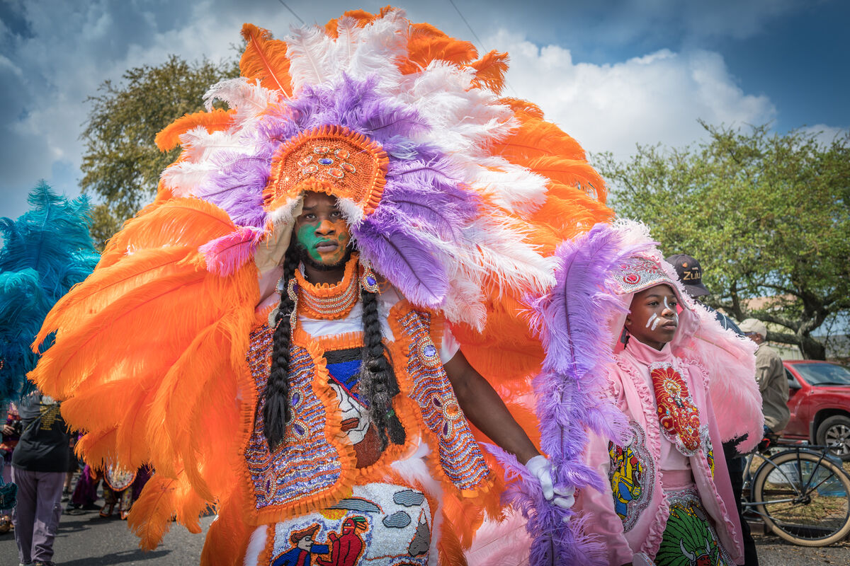 "02a473f02 How the ""Mardi Gras Indians"" Compete to Craft the Most Stunning ..."