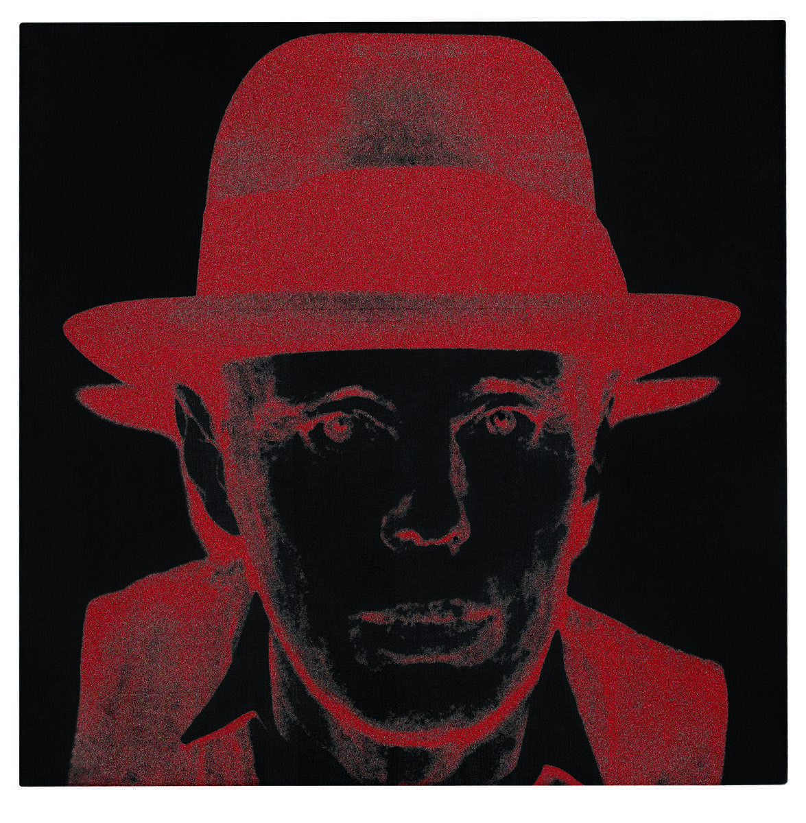 Andy Warhol, Joseph Beuys (Diamond Dust), 1980. Courtesy of Sotheby's.