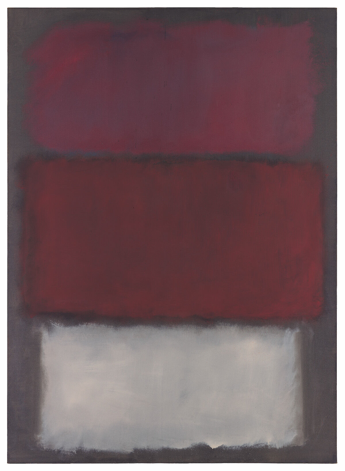 Mark Rothko, Untitled, 1960, oil on canvas. Est. $35 million–50 million. © 1998 Kate Rothko Prizel and Christopher Rothko / Artists Rights Society (ARS), New York.
