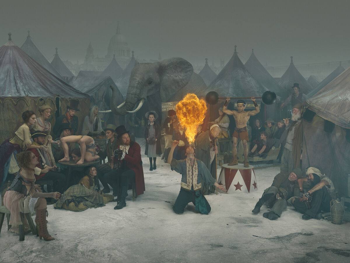 Julia Fullerton-Batten, The Frost Fair 1814, 2019. Courtesy of the artist.