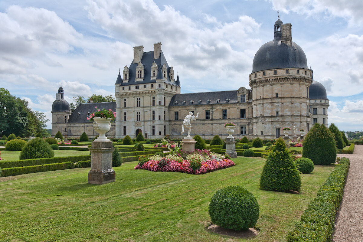 The Château de Valençay in the Loire river valley in France. Photo by Jean-Christophe BENOIST, via Wikimedia Commons.