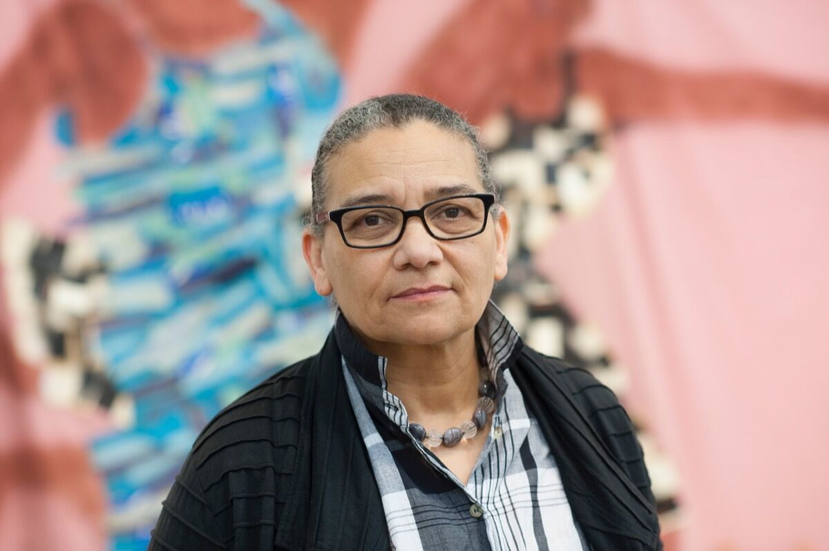 Portrait of Lubaina Himid. Courtesy of Hull UK City of Culture.