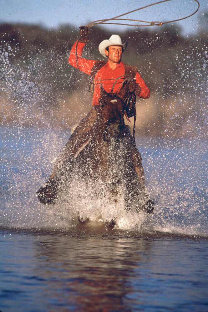 Norm Clasen, Brazos River Run, Seymour, TX, 1987. Courtesy of the artist.