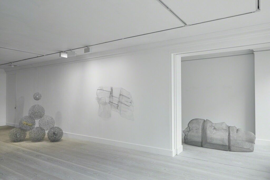 """Installation view of """"Mother Mould,"""" Gazelli Art House, London. Courtesy Gazelli Art House and the artist."""