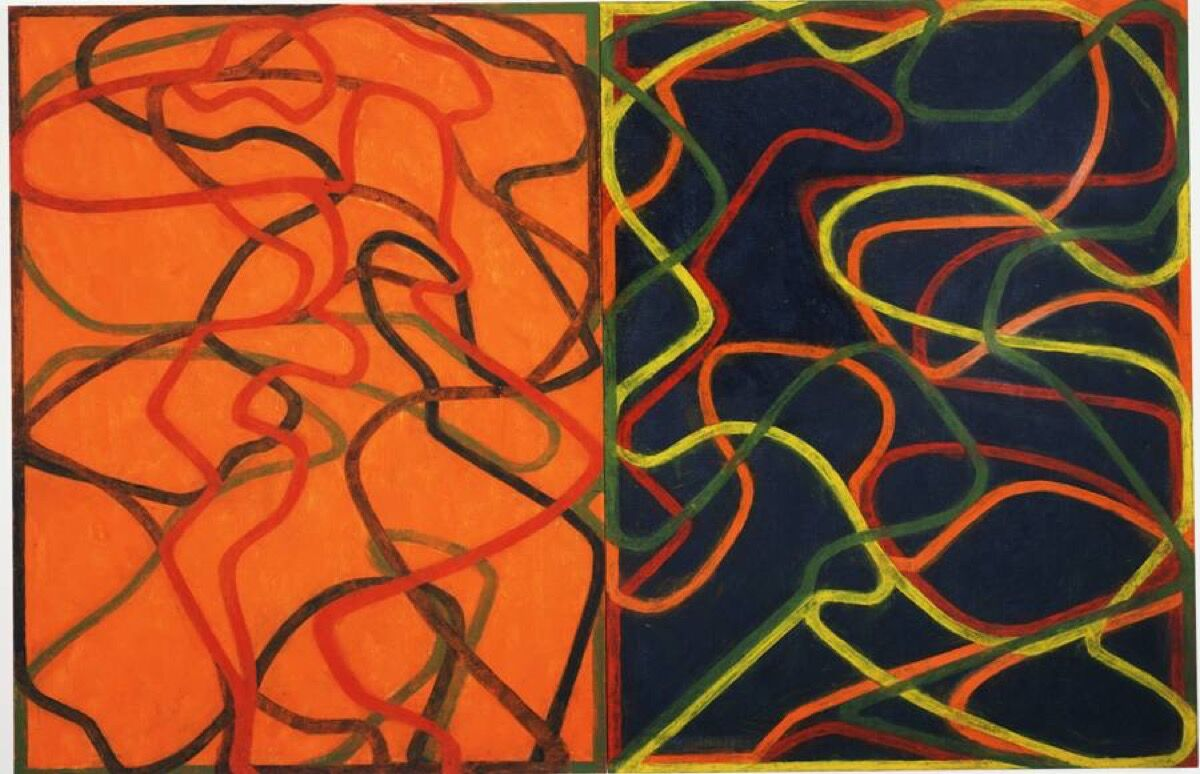 Brice Marden, Complements, 2004-07. © 2020 Brice Marden/Artists Rights Society (ARS), New York. Courtesy of the Donald B. Marron Family Collection, Acquavella Galleries, Gagosian, and Pace Gallery.