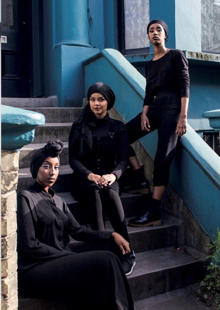 Hijabis, Photo by Ife Akinroyeje (Hiders Seekers). Image courtesy of gal-dem.