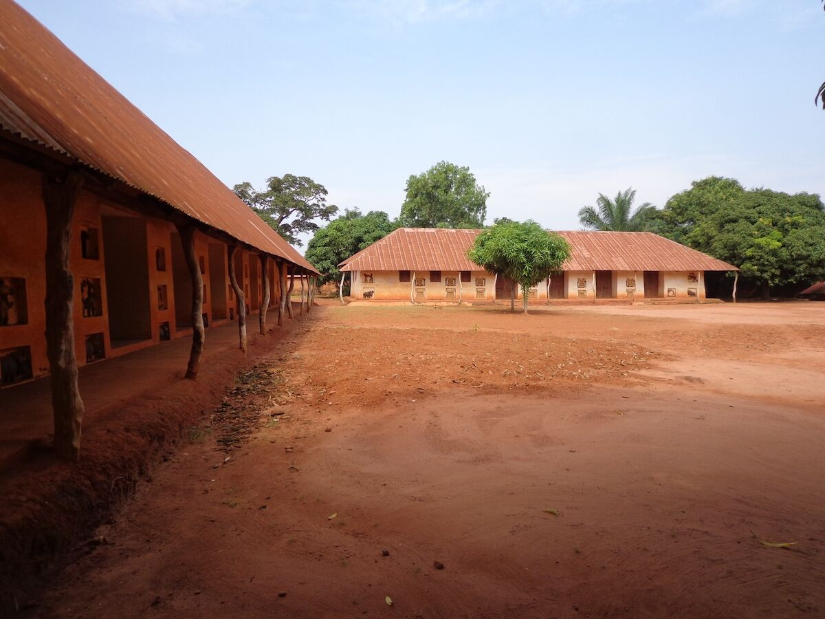 The Royal Palaces of Abomey. Photo by Karalyn Monteil, © UNESCO.