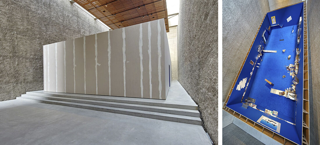 """Installation views of """"Camille Henrot:The Pale Fox,""""KÖNIG GALERIE, Berlin.Photo: Ulf Saupe.Courtesy KÖNIG GALERIE and the artist"""