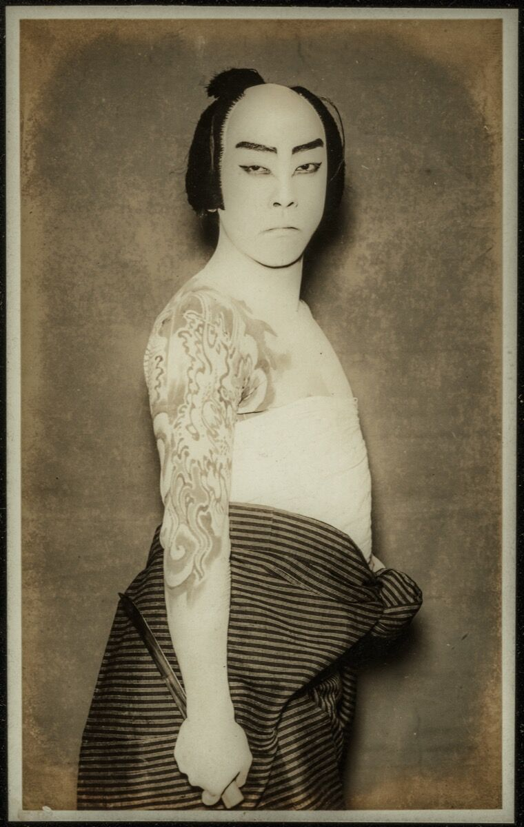Kabuki Actor, ca. 1920. Photo © Museum of Fine Arts, Boston. Courtesy of the Museum of Fine Arts, Boston, William Sturgis Bigelow Collection.