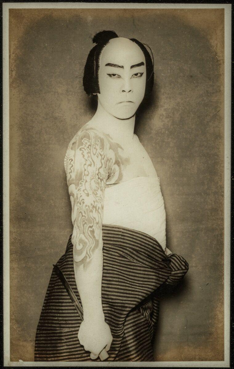 Kabuki Actor, ca. 1920. Photo © Museum of Fine Arts, Boston. Courtesy of the Museum of Fine Arts, Boston, William Sturgis Bigelow Collection.