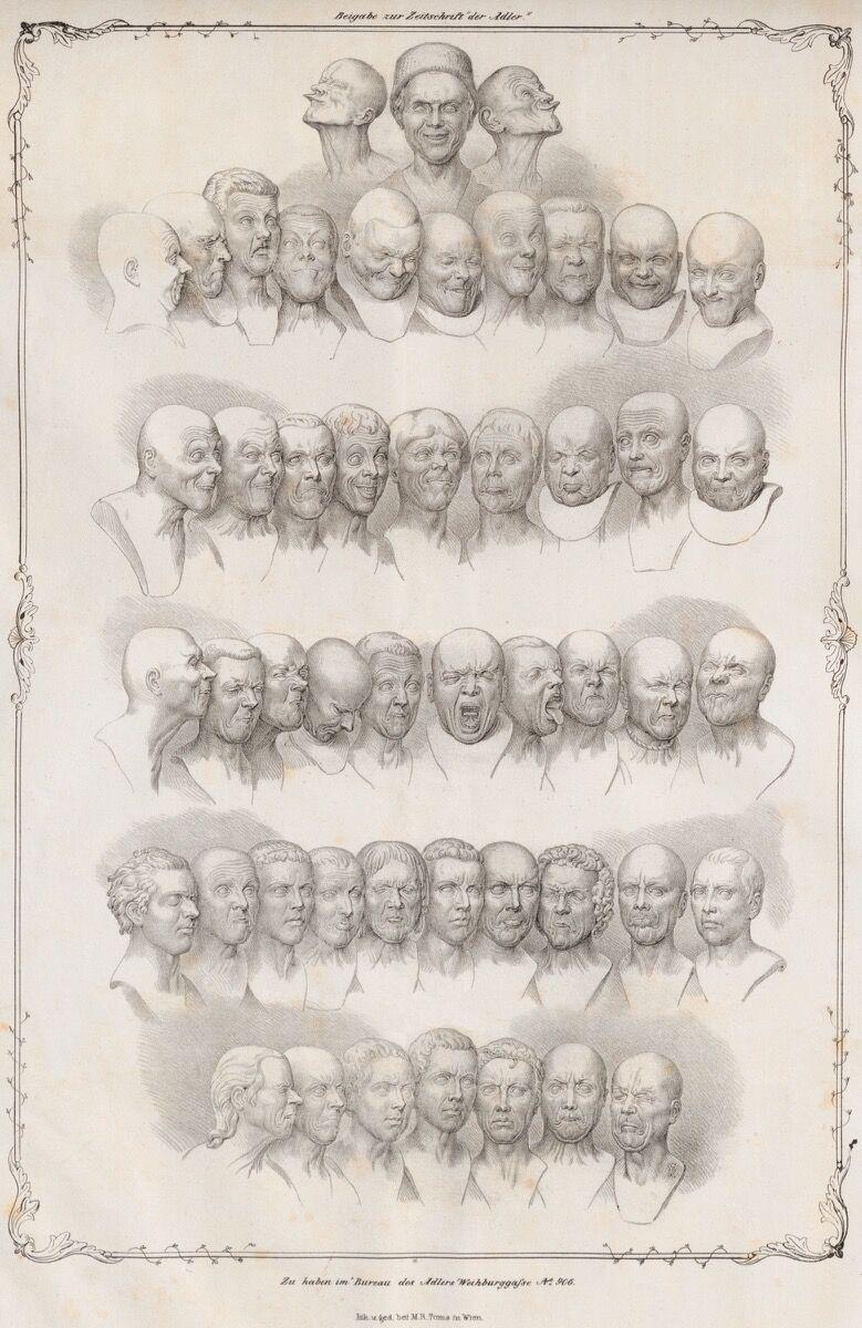 "Matthias Rudolph Toma, Messerschmidt's ""Character Heads,"" 1839. Photo via Wikimedia Commons."