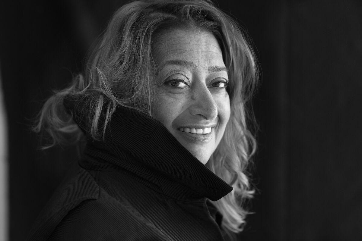Portrait of Zaha Hadid by Brigitte Lacombe. Courtesy ofZaha Hadid Architects.