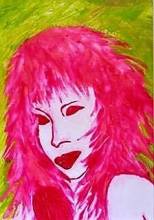 Cris de Diego, Tina Turner, 2018. Courtesy of the artist.