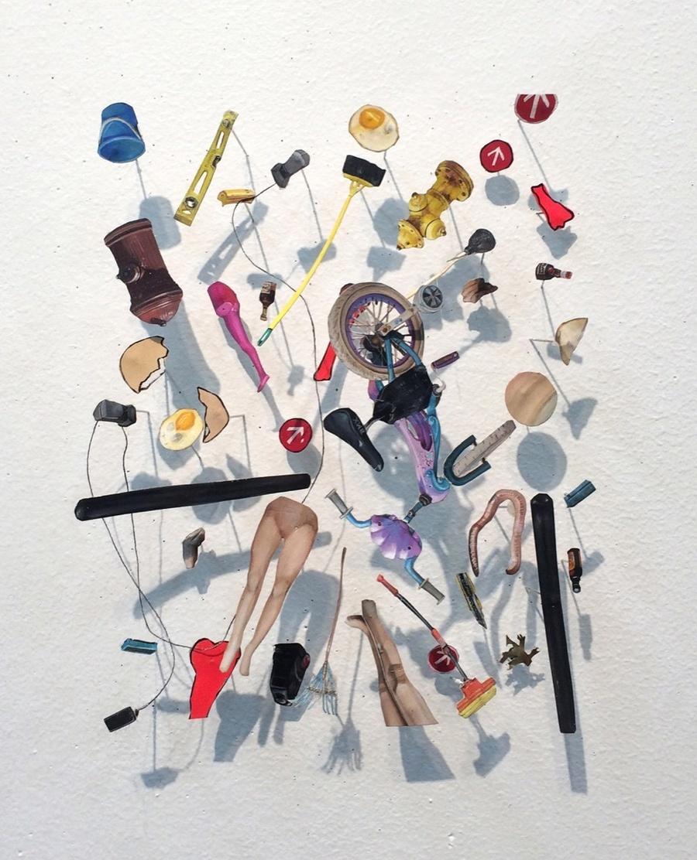Rachel Grobstein, Oeufs et Toast, 2015-16. Avec l'aimable autorisation de l'artiste.
