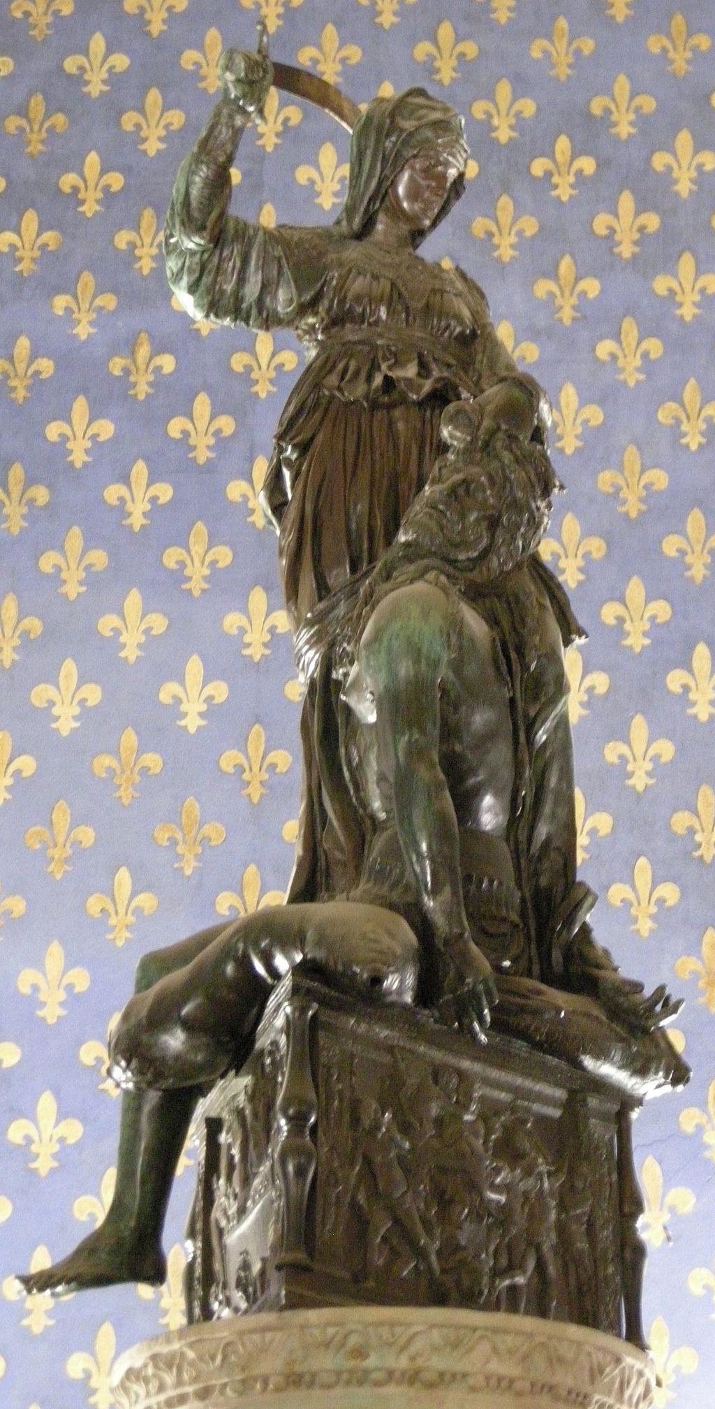 Donatello, Judith, 1457–64. Image via Wikimedia Commons.