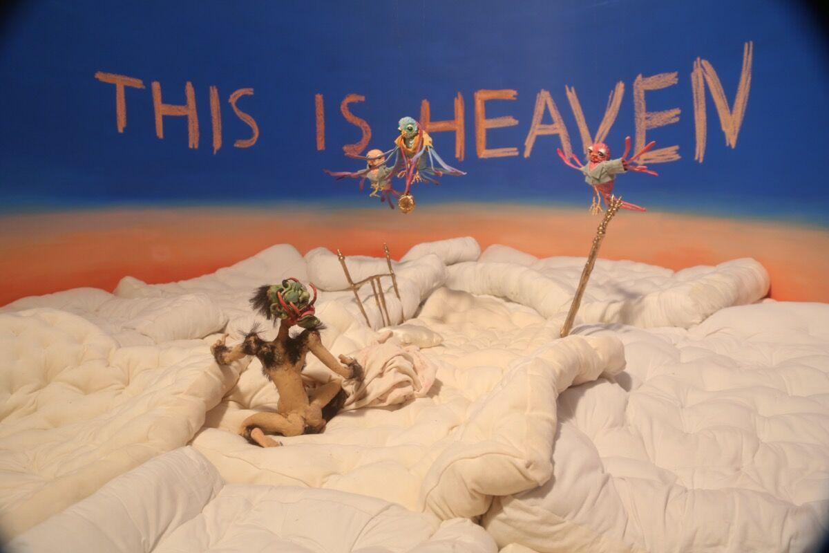 Nathalie Djurberg and Hans Berg, still from This is Heaven, 2019. © Nathalie Djurberg and Hans Berg. Courtesy of Lisson Gallery.