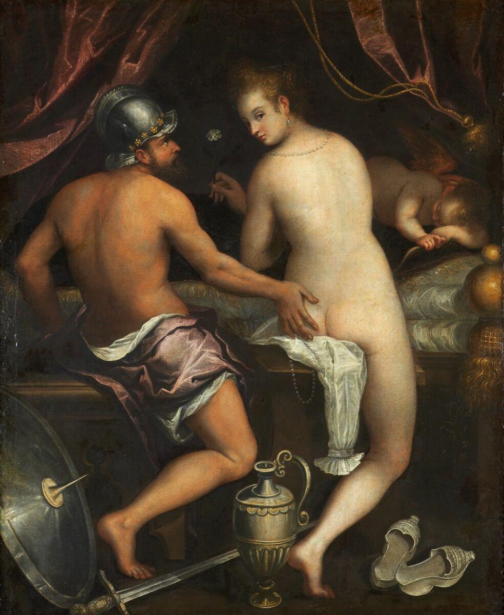 Lavinia Fontana, Mars and Venus, c. 1595. Courtesy of the Museo del Prado.